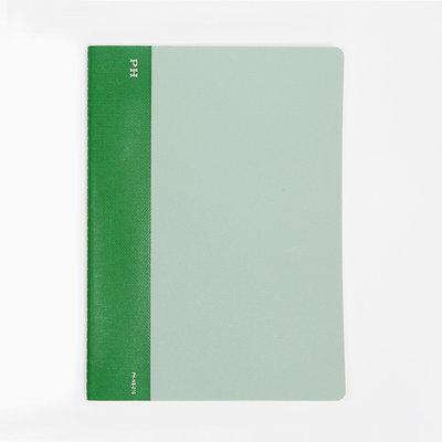 Papier Labo Hightide (PH) - exclusief kaasdoek Notebook Groen B5