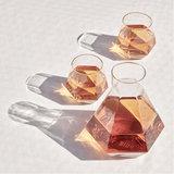 Puik design rare carafe + radiant glasses