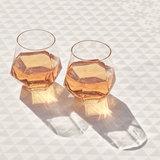 Puik design radiant drinking glasses