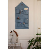 Ferm Living House wall storage blue