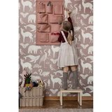 Ferm Living House wall storage dusty rose