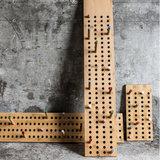 We do wood scoreboard vertical dark bamboo