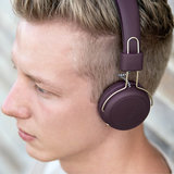 Kreafunk aWEAR wireless headphones plum