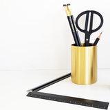 Ferm living brass pencil cup