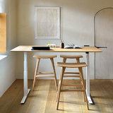 Ethnicraft Bok adjustable desk - table