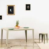 Wye design chamfer table grey