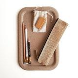 Midori paper cord pen case natural