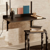Ferm living Sector desk black stained ash