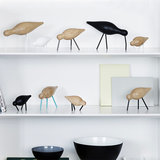 Normann Copenhagen Shorebird Small Eiken Black black _