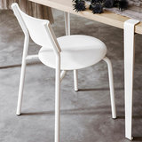 Tiptoe SSDr chair white