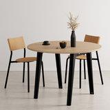 Tiptoe New Modern round table black