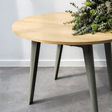 Tiptoe New Modern round table eucalyptus