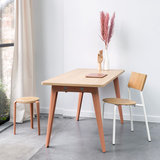 Tiptoe new modern desk pink