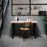 Tiptoe new modern desk black