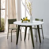Tiptoe New Modern round table recycled plastic