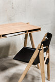 We Do Wood Dining chair + Field Desk