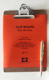 Hightide clipboard A5 chrome