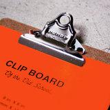 Hightide clipboard A5 chrome detail