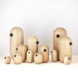 Normann Copenhagen Little birds - houten vogel_