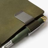 Travelers company pen holder olive edition