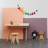 Plyconic Plyve childs stool and desk