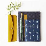 Atelier 225 A6 notebook Plongeon met keecie pencase