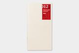 Travelers notebook refill 12 sketch paper