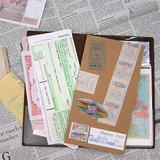 Traveler's notebook refill 004 Pocket stickers (3)