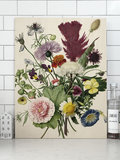 KEK Amsterdam Wild Flowers wood print S/M