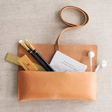 Appointed leather pencil case