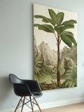 KEK Amsterdam Wooden Print Banana tree
