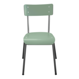les gambettes suzie chair khaki brushed steel legs