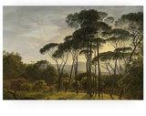 KEK Amsterdam wood print golden age landscape