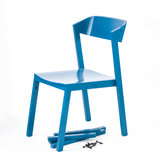 ubikubi atelier chair zonder armleuning