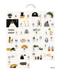 Ted & Tone A is for Alphabet poster