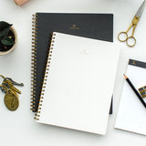 appointed notebook antraciet grijs