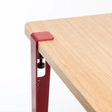 TIPTOE table leg 75 cm rouge pourpre