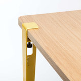 TIPTOE table leg 75 cm yellow