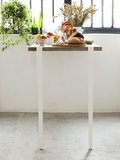 TIPTOE table & bar leg 110 cm white