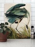 KEK Amsterdam Wood Print heron in gras