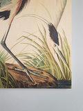 KEK Amsterdam print op hout Reiger in gras medium  SHOWROOMSALE_