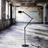 Tonone bolt double arm floor lamp