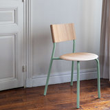 Tiptoe SSD chair green oak
