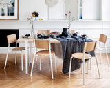 Tiptoe SSD chairs around table