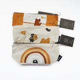 Ted & Tone multipurpose bags - pencases