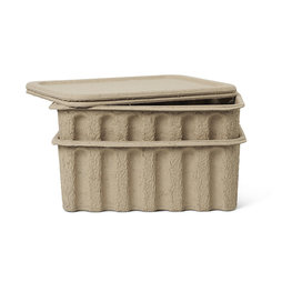 Ferm Living pulp boxes large (set van 2)