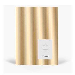 """NOTEM STUDIO Notebook """"Vita"""" Medium Oker lijnen"""