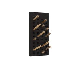 We Do Wood Scoreboard Dark Small kapstok