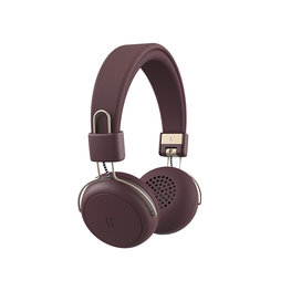 KREAFUNK aWEAR Bluetooth Koptelefoon plum