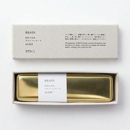 Midori Pencase solid Brass pennenbakje